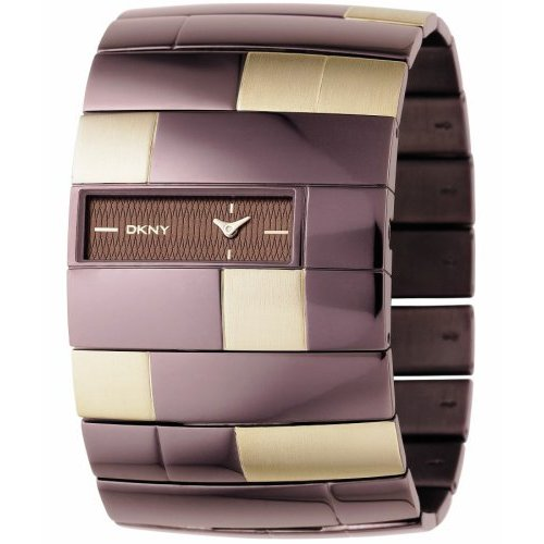 Dkny Las Watch Ny4293 Two Tone Stainless Steel Bracelet With Jewelery Clasp Price 95 00 Our 89 99